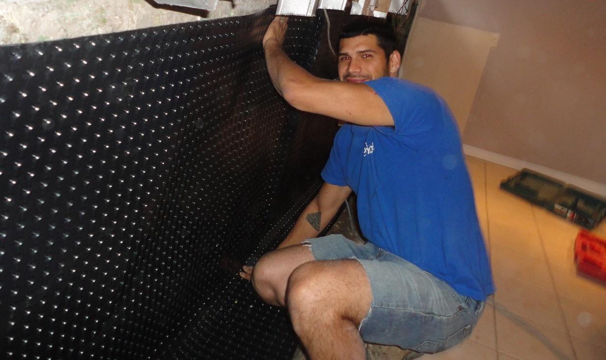 basement waterproofing in Oakville